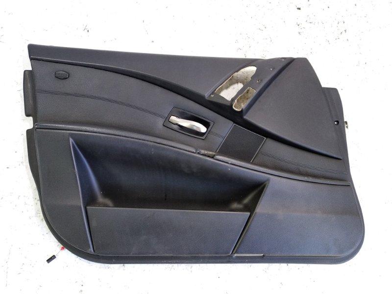 Обшивка дверей Bmw 5-Series E60 M54B25 передняя левая