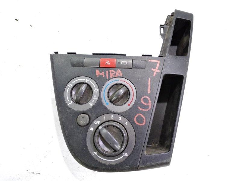 Блок управления климат-контролем Daihatsu Mira L275V KFVE 2008