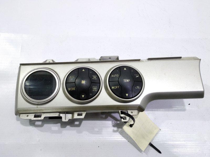 Блок управления климат-контролем Toyota Corolla Rumion NZE151 2ZRFE 2007.11
