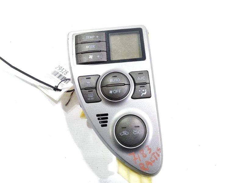 Блок управления климат-контролем Toyota Ractis NCP100 1NZFE 2005