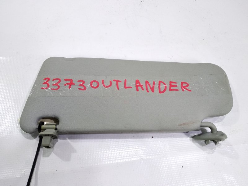 Козырек Mitsubishi Outlander CW4W 4B12 2006.03 передний правый