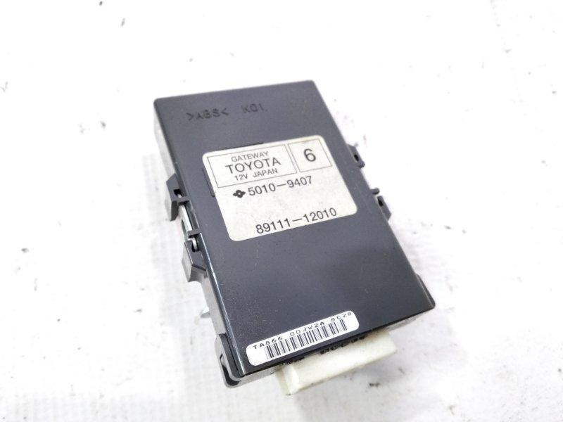Электронный блок Toyota Auris NRE150 2ZRFE 2008