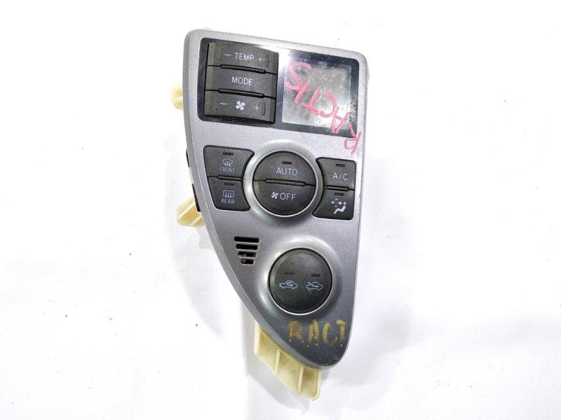 Блок управления климат-контролем Toyota Ractis NCP100 1NZFE