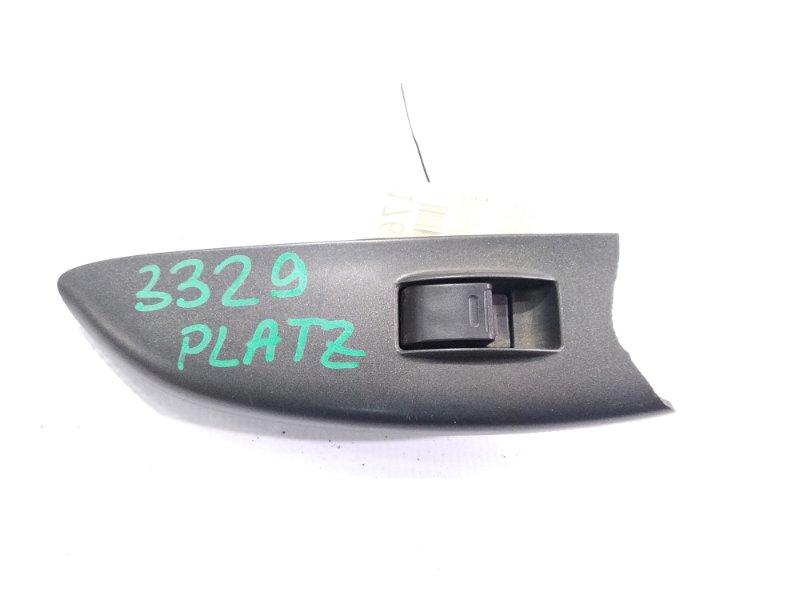 Кнопка стеклоподъемника Toyota Platz NCP12 2NZFE 2002.01 передняя левая