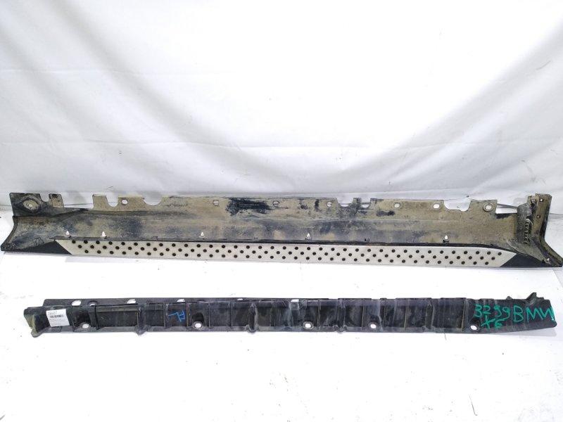 Подножка Bmw X6 E71 M57N2 11.2008 левая