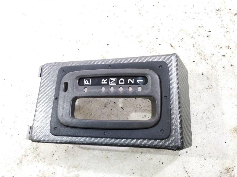 Консоль автомата Nissan Xtrail T30 QR20DE 2001