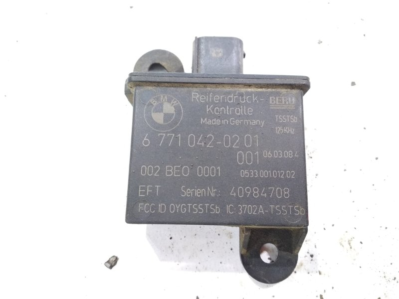 Датчик давления в шинах Bmw X6 E71 N54B30A 2008 задний правый