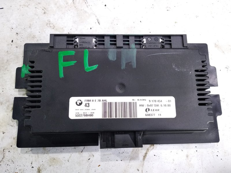 Блок управления Bmw X6 E71 N54B30A 2008 передний левый