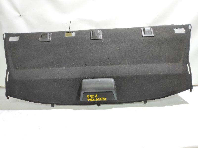 Полка под заднее стекло Nissan Teana PJ32 VQ25DE 06.2008 задняя