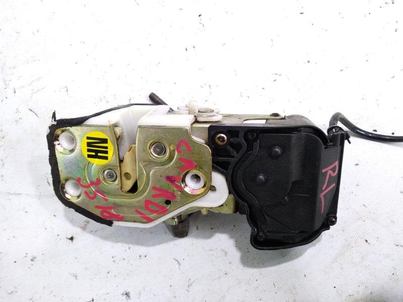 Замок двери Honda Crv RD1 B20B 1998 задний левый