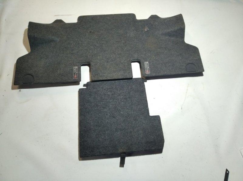 Пол багажника пластик Toyota Sienta NCP81 1NZFE