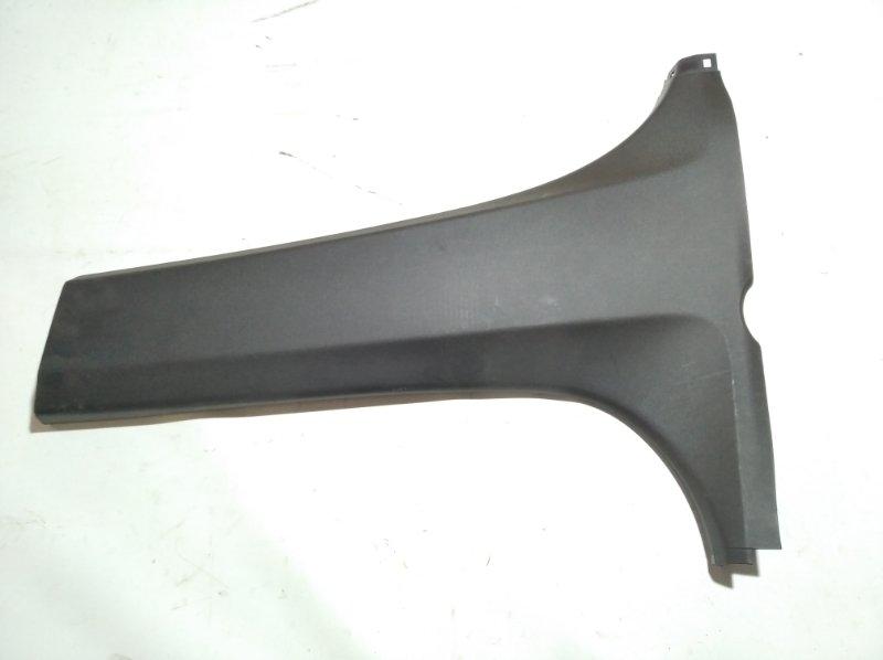Обшивка стойки кузова Toyota Passo KGC30 1KRFE 2010.03 задняя левая нижняя