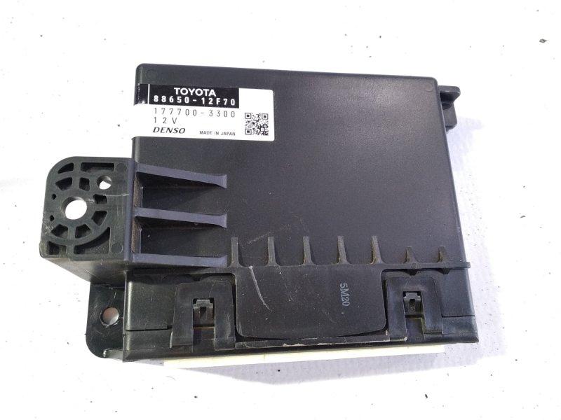 Блок управления кондиционером Toyota Auris NRE150 2ZRFAE 2010