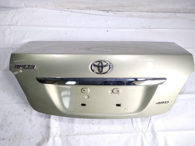 Крышка багажника Toyota Belta NCP96 2NZFE 2006