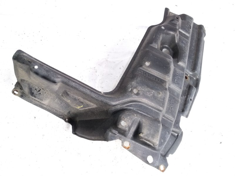 Защита двигателя Toyota Belta NCP96 2NZFE 2006 передняя левая