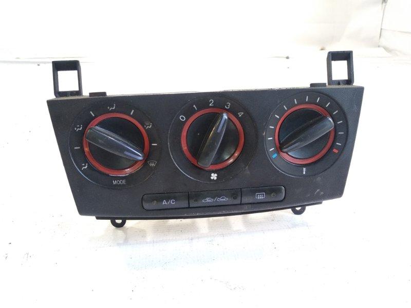 Блок управления климат-контролем Mazda Axela BK5P Z6 2005
