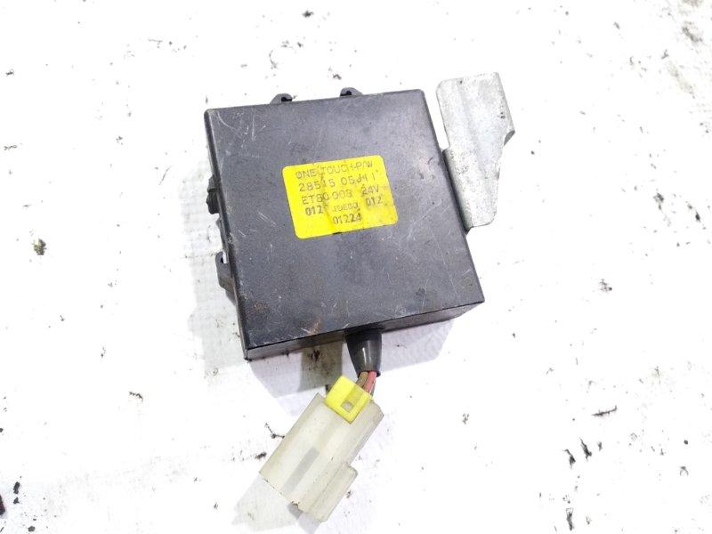 Блок управления Nissan Safari FGY60 TD42 1990