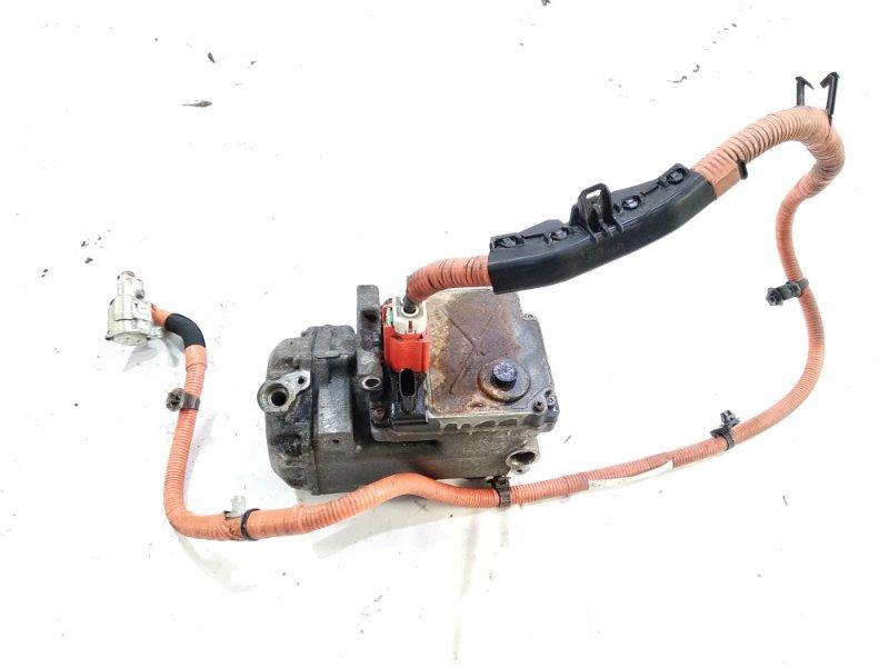 Компрессор кондиционера Toyota Estima AHR20W 2AZFXE 2006 передний