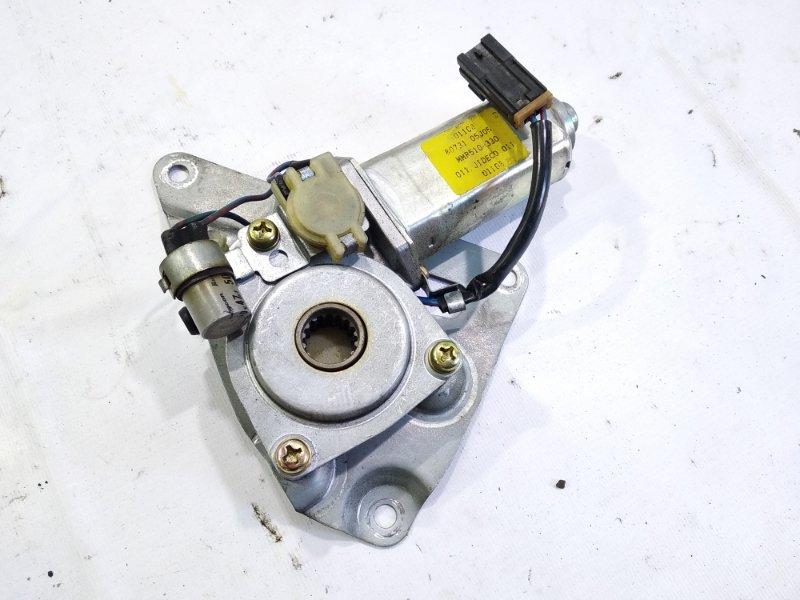 Мотор стеклоподъемника Nissan Safari FGY60 TD42 1995 передний левый