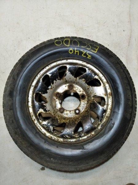 Запаска Suzuki Escudo AT01W G16A 09.1990