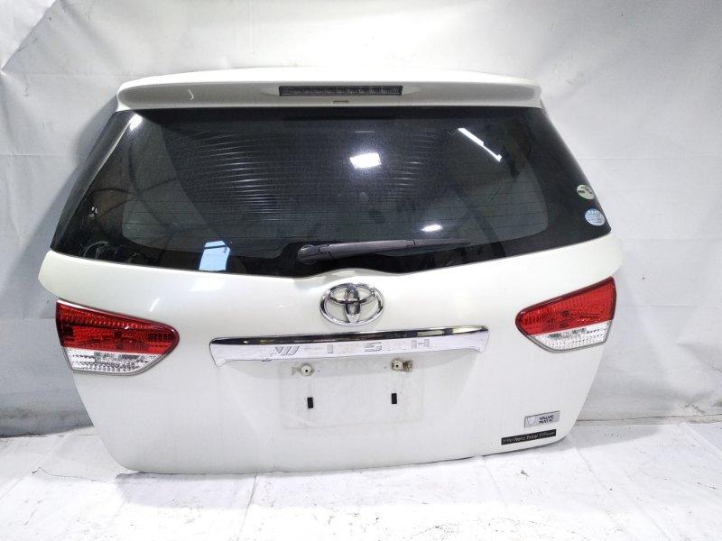 Дверь 5я Toyota Wish ZGE20 2ZRFAE 2009 задняя