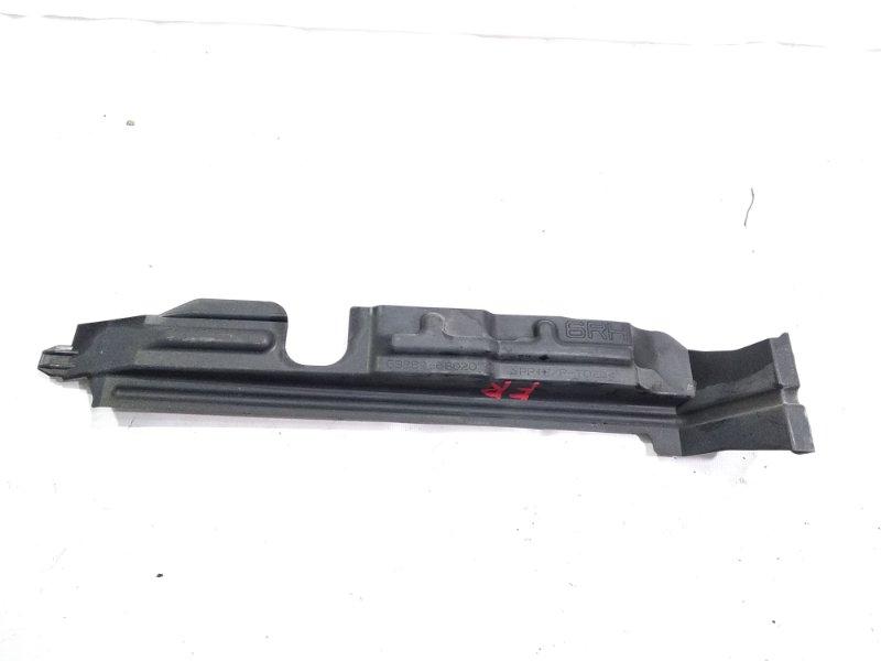 Защита радиатора Toyota Wish ZGE20 2ZRFAE 2009 передняя правая