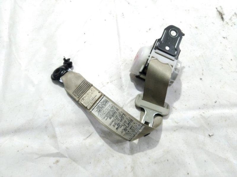 Ремень безопасности Toyota Belta NCP96 2NZFE 2006 задний левый
