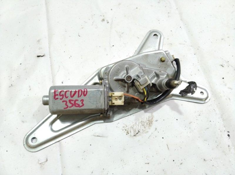 Моторчик заднего дворника Suzuki Escudo TA52W H27A 2002 задний