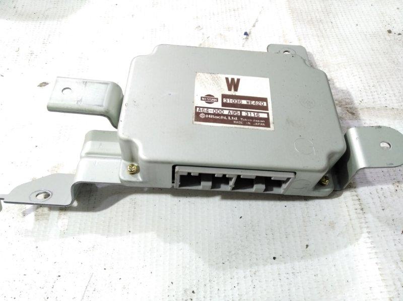 Блок управления автоматом Nissan Ad VFY11 QG18DE 2002