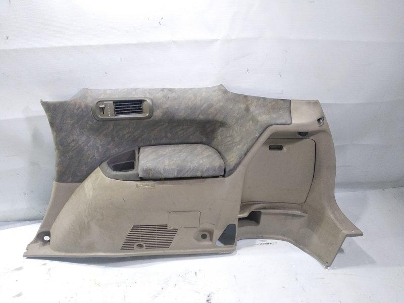 Обшивка багажника Toyota Gaia SXM10 3CTE 1998 задняя правая нижняя