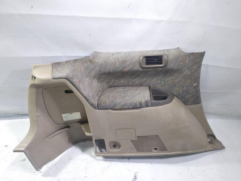 Обшивка багажника Toyota Gaia SXM10 3CTE 1998 задняя левая нижняя