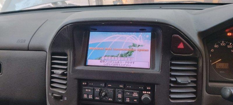 Монитор Mitsubishi Pajero V63W 6G74GDI 2000 передний