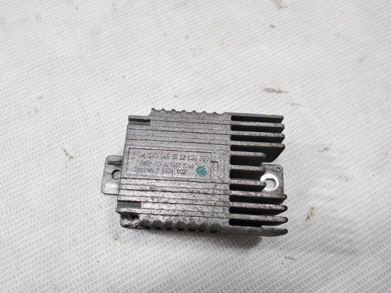 Блок управления вентилятором охлаждения Mercedes-Benz S-Class WDB220 113960 1998