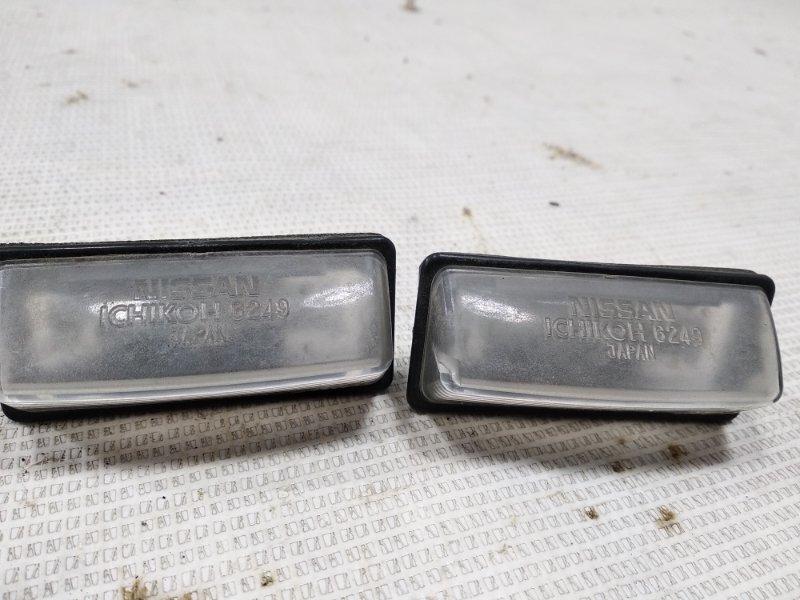 Подсветка номера Nissan Bluebird Sylphy KG11 MR20DE 2005 задняя