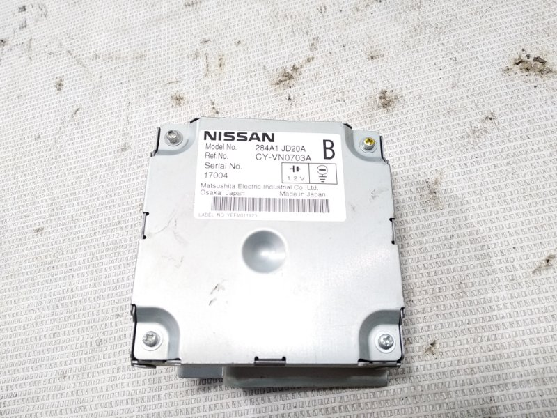 Блок управления камерой заднего вида Nissan Dualis J10 MR20DE 07.2007