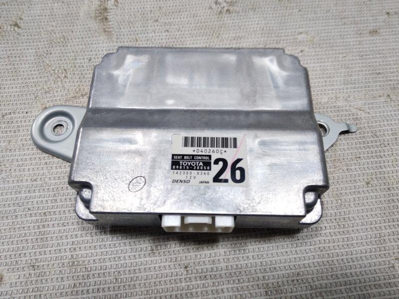 Блок управления ремнями безопасности Toyota Estima AHR20W 2AZFXE 2008
