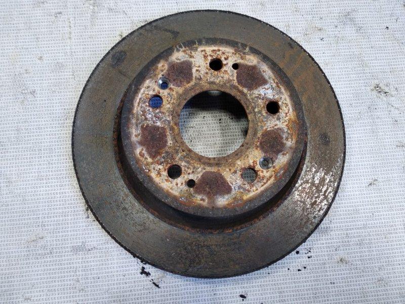 Тормозной диск Honda Vezel RU1 LEB 2013 задний левый