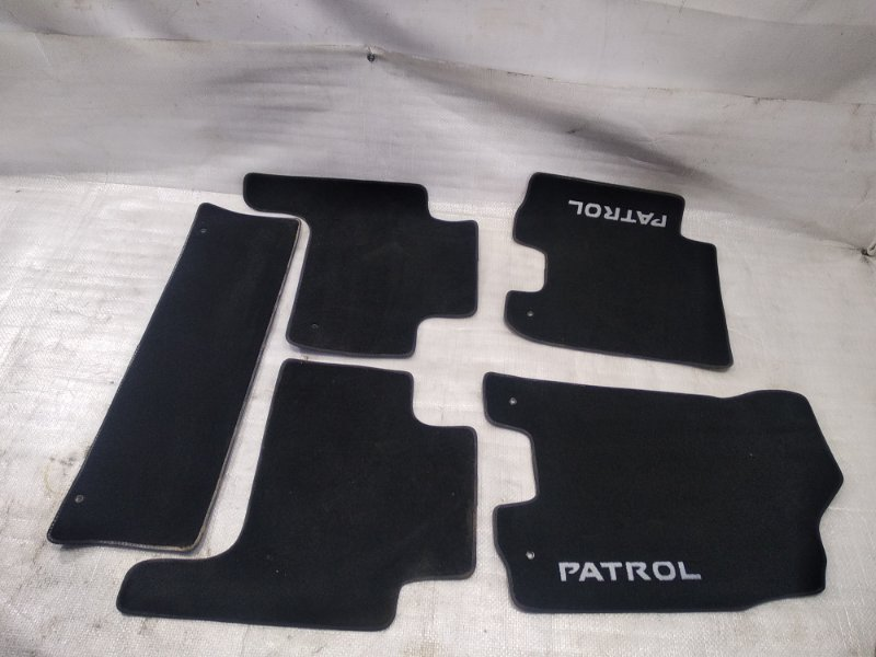 Коврики комплект Nissan Patrol Y62 VK56VD 2010