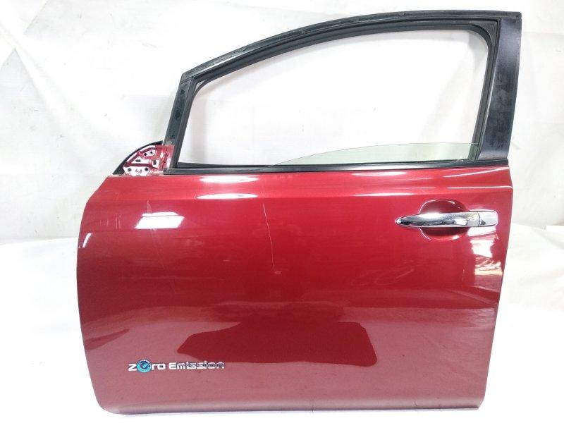 Дверь Nissan Leaf AZE0 EM57 2013 передняя левая
