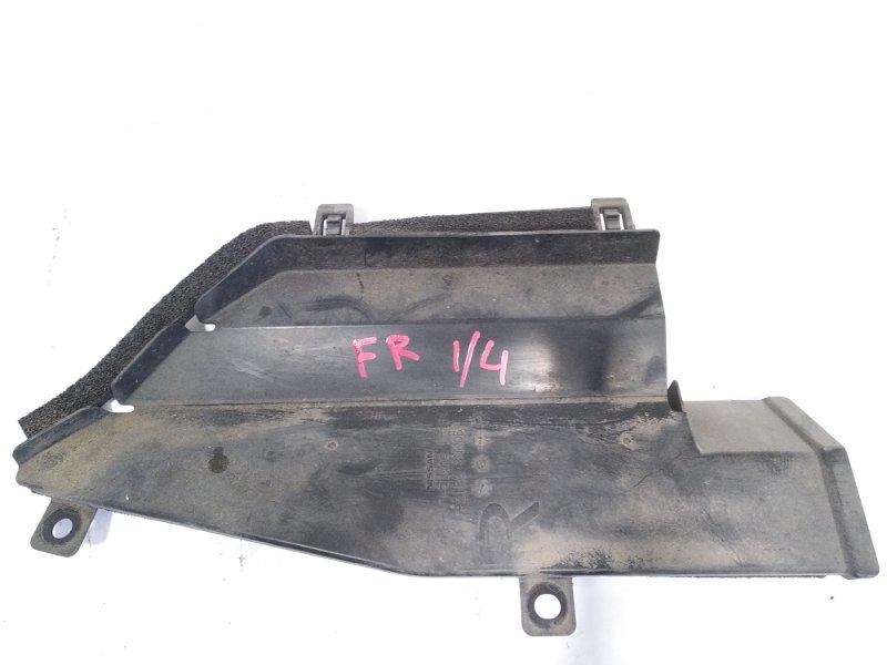 Защита радиатора Nissan Leaf AZE0 EM57 2013 передняя правая