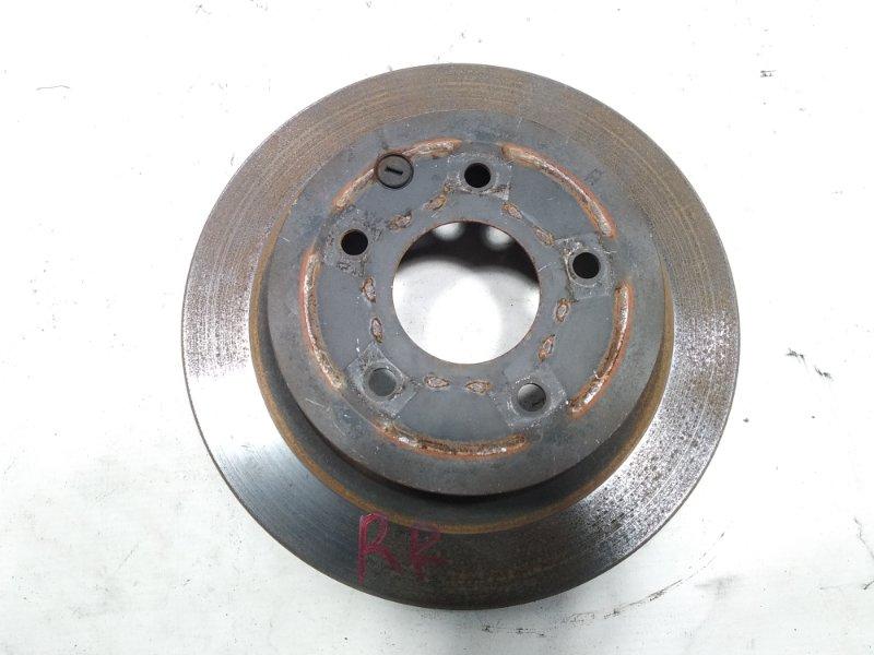 Тормозной диск Nissan Leaf AZE0 EM57 2013 задний правый
