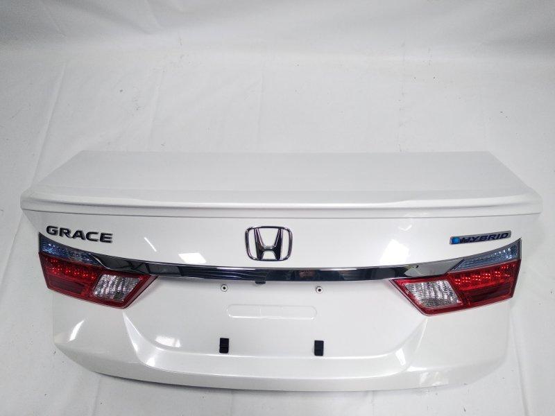 Крышка багажника Honda Grace GM4 LEB 2014 задняя