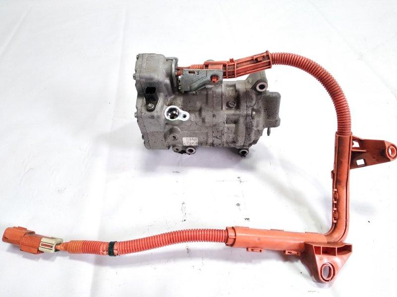 Компрессор кондиционера Honda Grace GM4 LEB 2014 передний