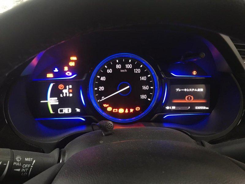 Двигатель Honda Grace GM4 LEB 2014