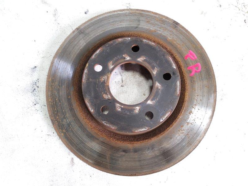 Тормозной диск Nissan Juke YF15 HR15DE 2011 передний правый