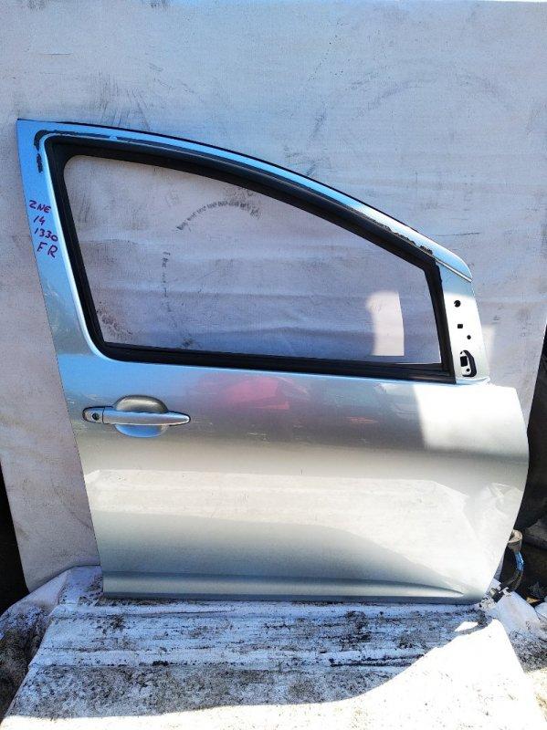 Дверь Toyota Wish ZNE10 1ZZFE передняя правая