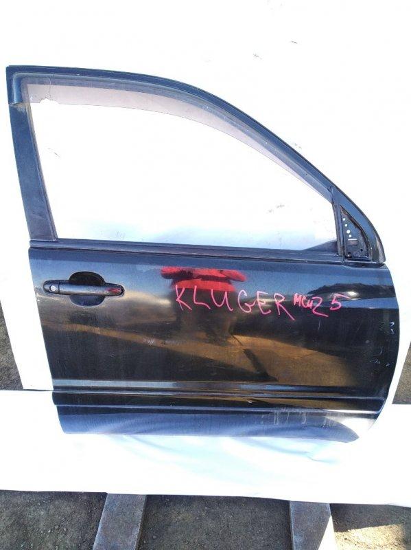Дверь Toyota Kluger V ACU20 1MZFE 2001 передняя правая