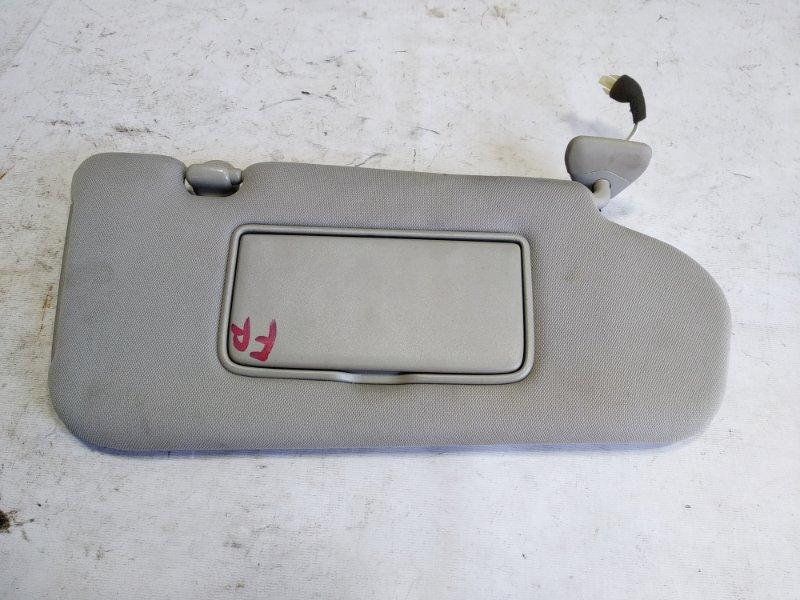 Козырек Infiniti Fx35 S50 VQ35DE 2007 передний правый