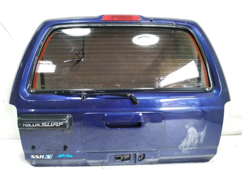 Дверь 5я Toyota Hilux Surf RZN185 задняя