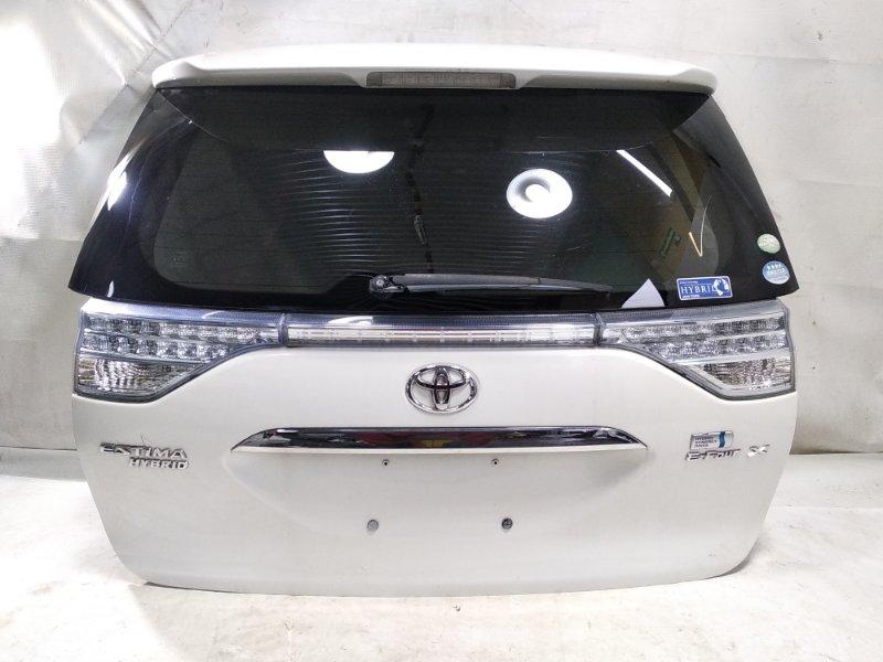 Дверь 5я Toyota Estima AHR20W 2AZFXE 2010 задняя